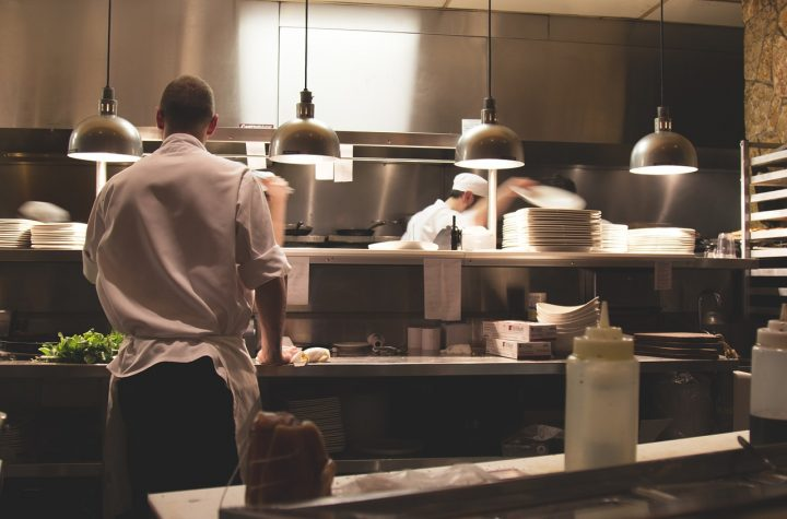 kuchnia restauracyjna